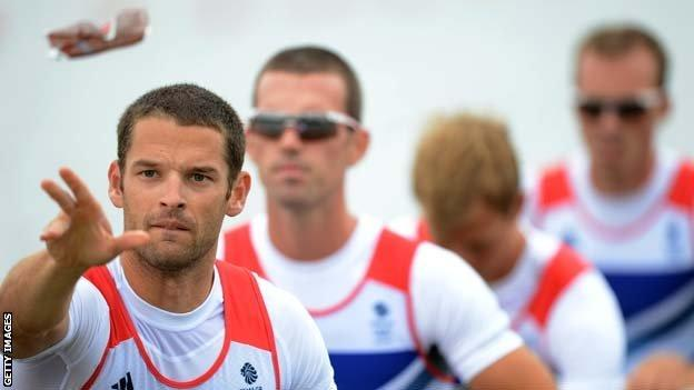 Chris Bartley and the GB lightweight four