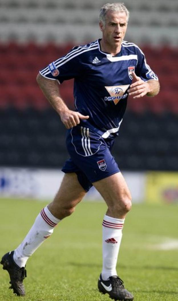 Craig Brewster playing for Ross County