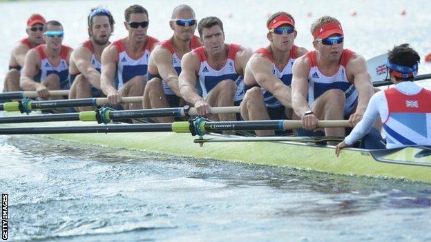 The British men's eight