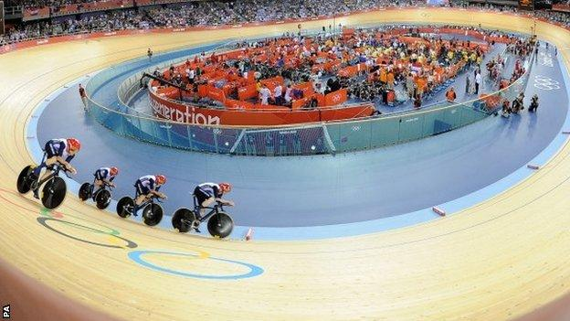 Britain's men's team pursuit