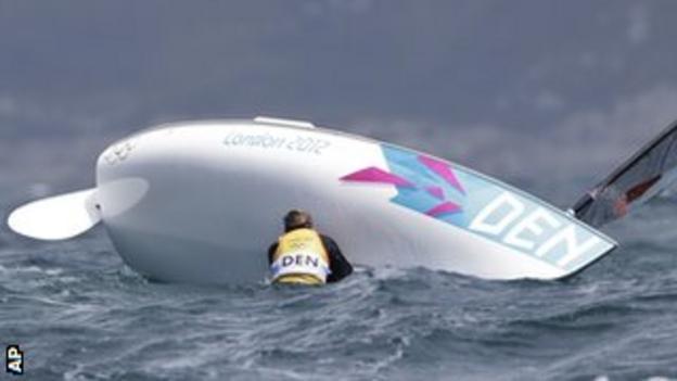 Hogh-Christensen rolls his boat