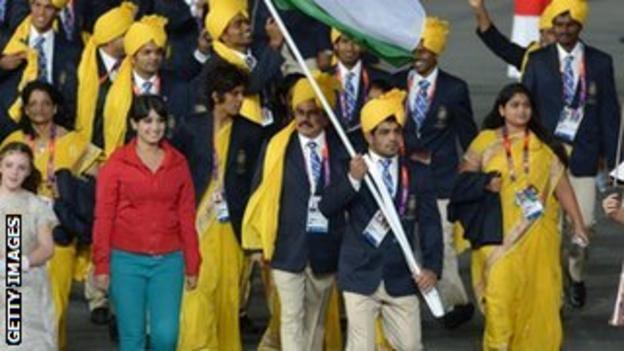 Bangalore student Madhura Nagendra gatecrashes the Olympic ceremony