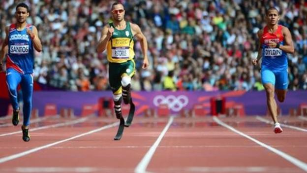 Oscar Pistorius makes Olympic history in 400m at London 2012 - BBC Sport