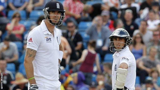 Kevin Pietersen and James Taylor