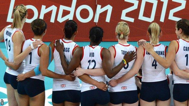 Great Britain volleyball team