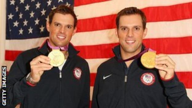 Olympians Bob and Mike Bryan