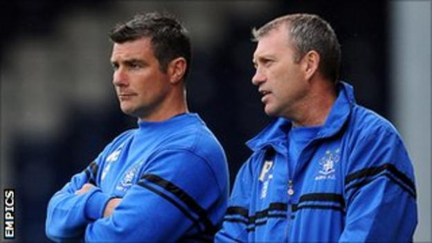Richie Barker and Peter Shirtliff