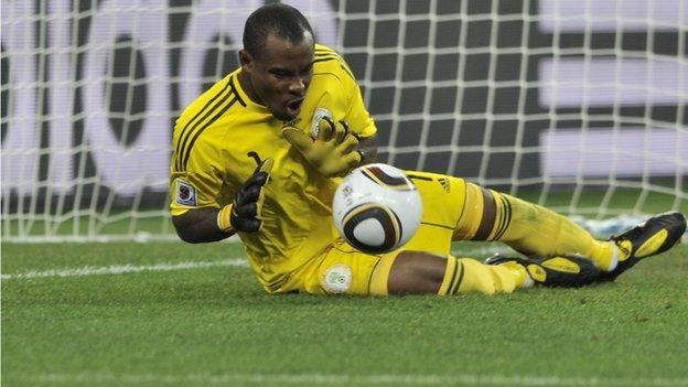 Nigeria international goalkeeper Vincent Enyeama