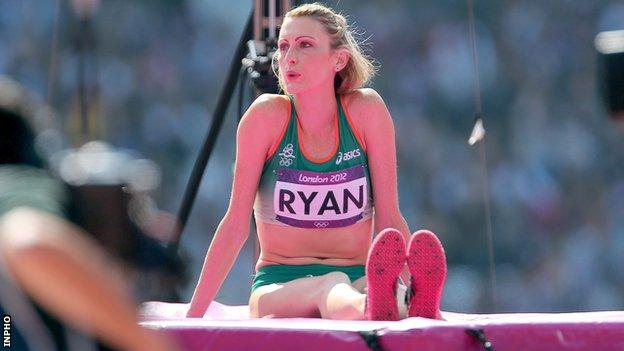 Deirdre Ryan's build-up to the Games was affected by injury