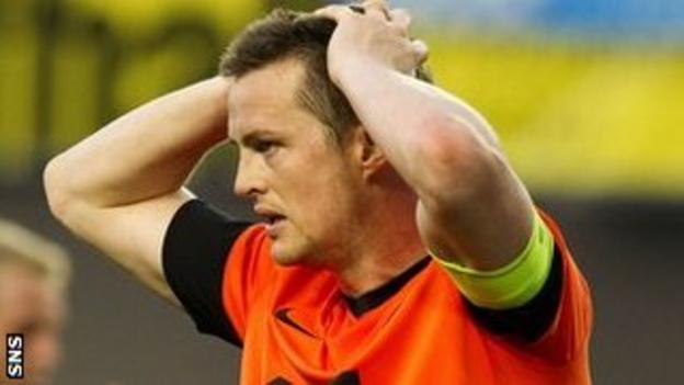 Dundee United captain Jon Daly