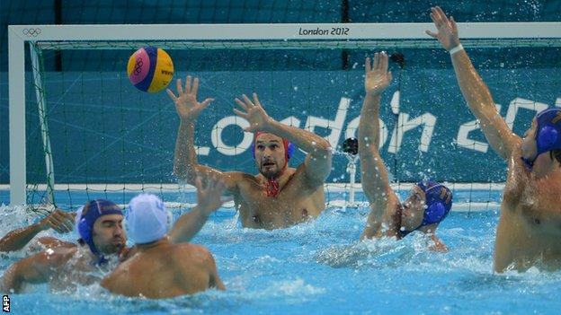 Italy met Croatia in the London 2012 final