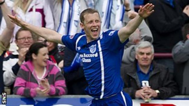 Peterhead midfielder Scott McLaughlin