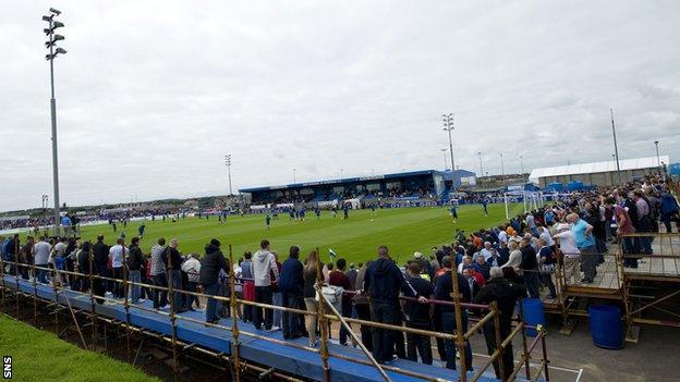 Rangers drew nearly 4,500 fans to Balmoor Stadium