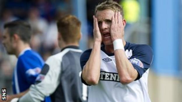 Rangers forward Dean Shiels