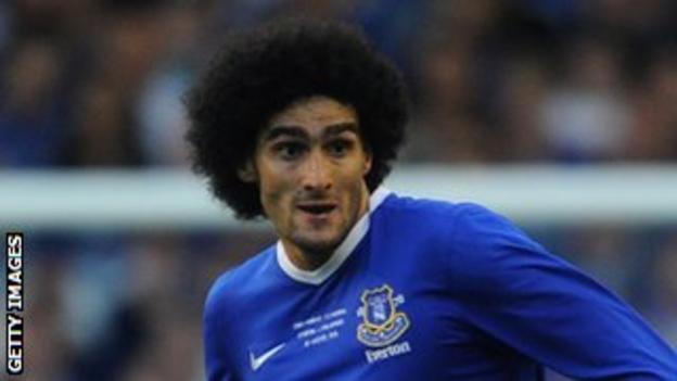 Marouane Fellaini has made 137 appearances for Everton since he joined the club in 2008