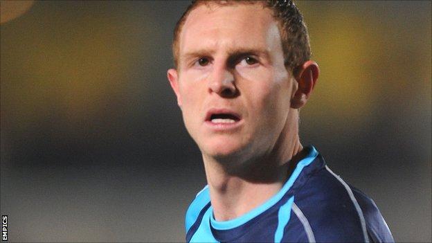 Wycombe striker Stuart Beavon