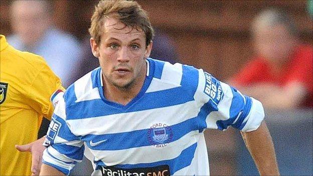 Oxford City player