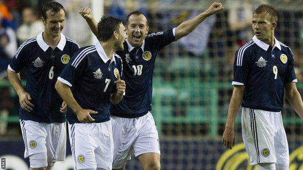 Scotland beat Australia 3-1 this week