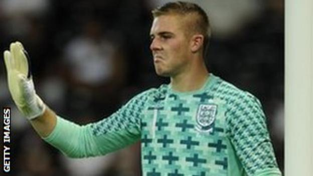 Butland makes his England debut in the victory over Italy
