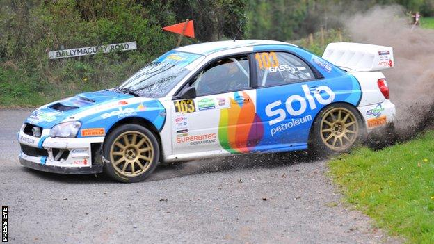 Darren Gass' victory extended his Irish Championship lead