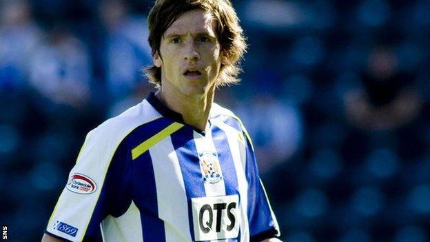 Borja makes his Kilmarnock debut