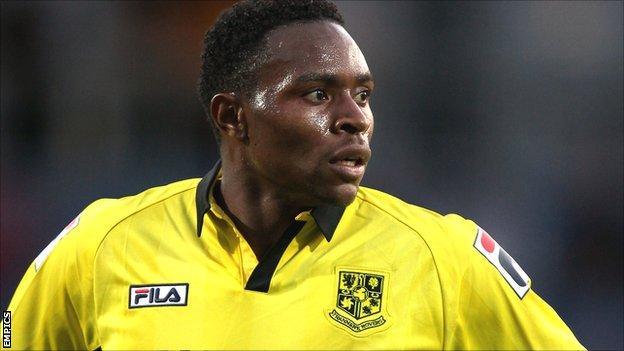 Tranmere Rovers striker Jean-Louis Akpa Akpro