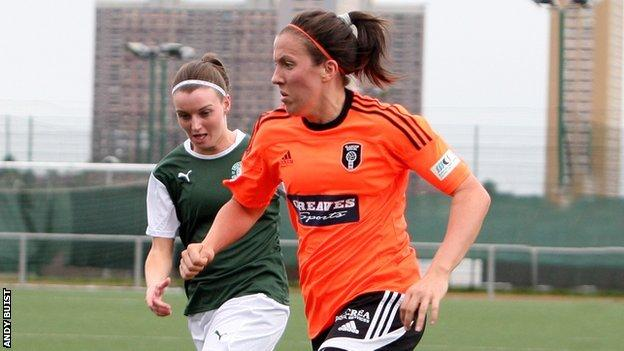 Glasgow City's Leanne Crichton