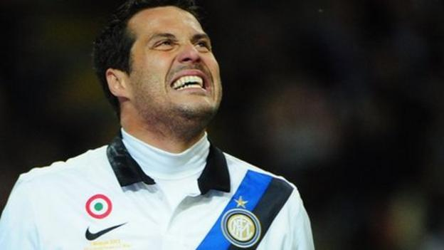 Julio Cesar agrees QPR move from Inter Milan - BBC Sport