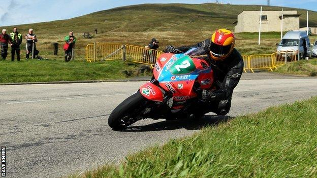 Nigel Moore on the Mountain Course