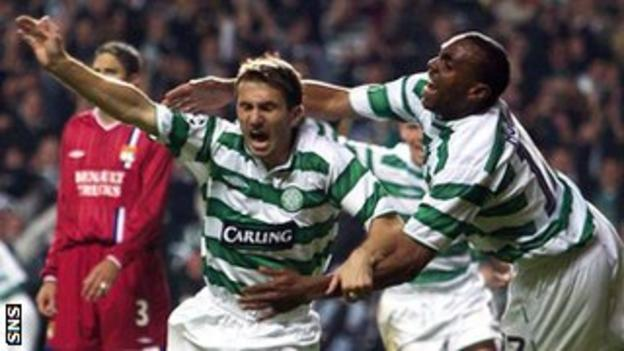Liam Miller and Didier Agathe