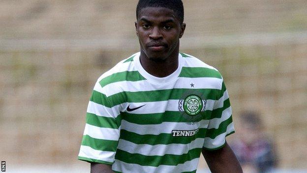 Celtic defender Andre Blackman