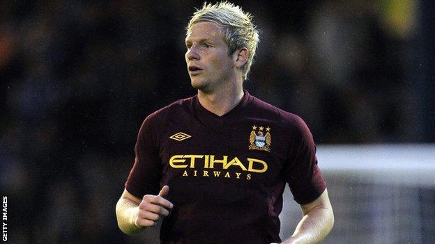 Manchester City defender Ryan McGivern
