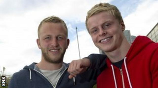 Johnny Russell and Gary Mackay-Steven