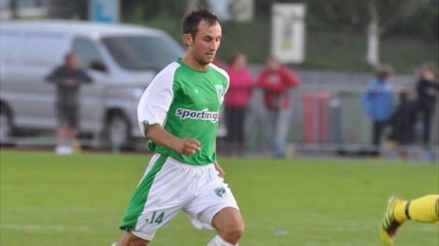 Guernsey FC's Dave Rihoy