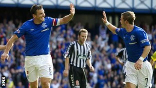Lee McCulloch and David Templeton