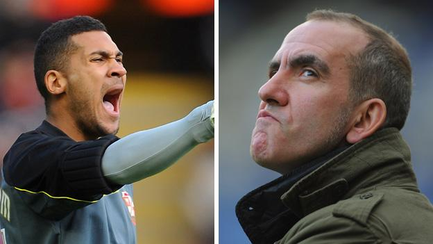 Wes Foderingham and Paolo Di Canio