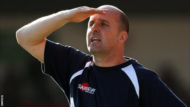 Accrington Stanley manager Paul Cook