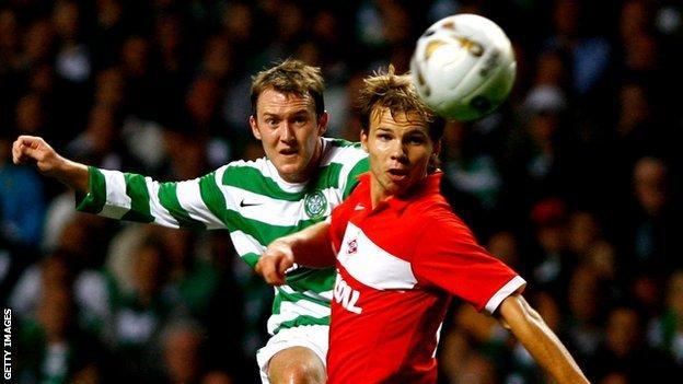 Former Celtic player Aiden McGeady