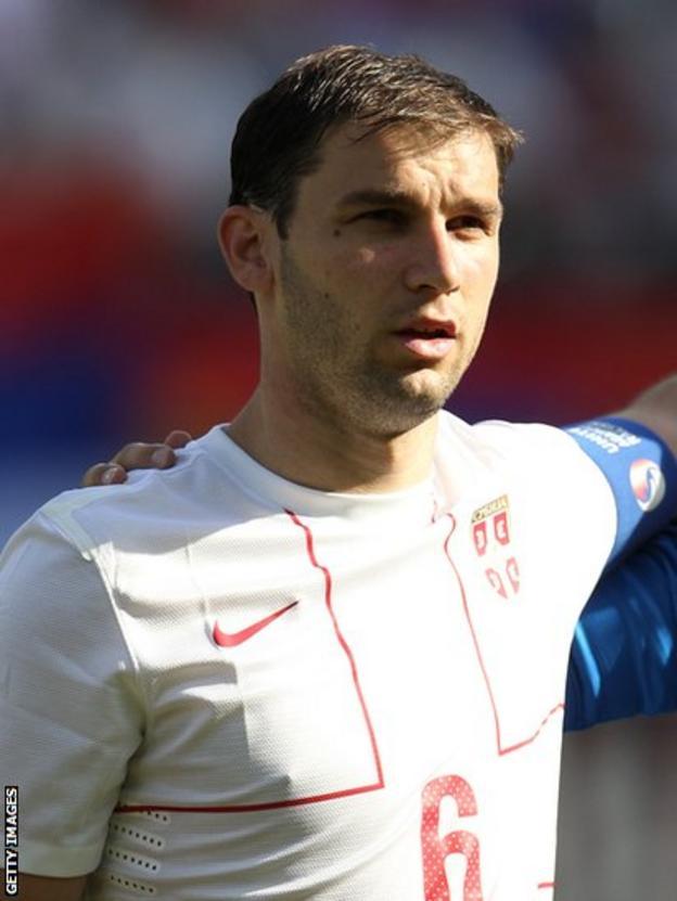 Serbian captain Branislav Ivanovic