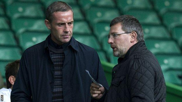 David Weir and Craig Levein