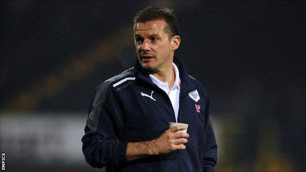 Preston North End manager Graham Westley