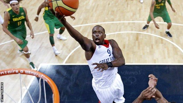 Luol Deng at 2012 Olympic Games