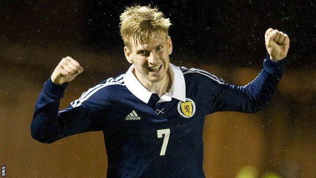 Scotland Under-21 midfielder Stuart Armstrong