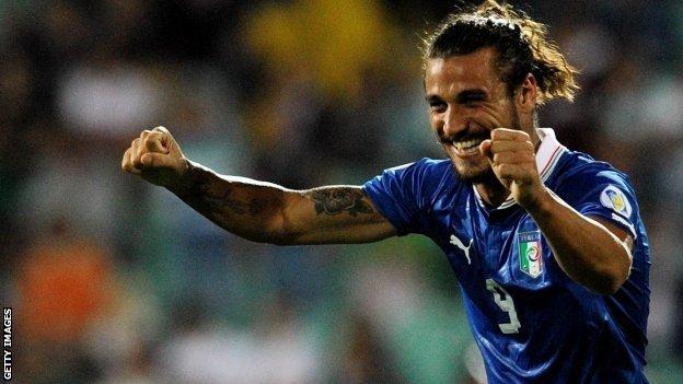 Italy striker Pablo Osvaldo