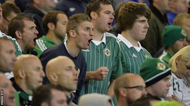 It was a frustrating night as fans watched Northern Ireland held to a home draw by Luxembourg