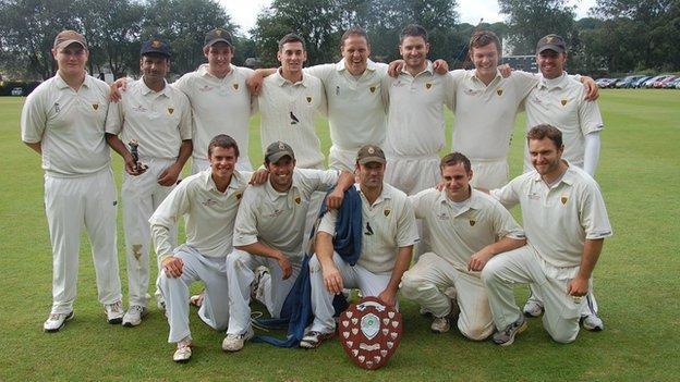 Cornwall cricket team
