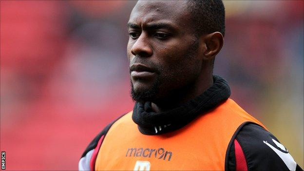 Preston North End striker Akpo Sodje