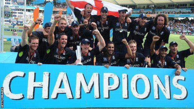 England win 2010 World T20