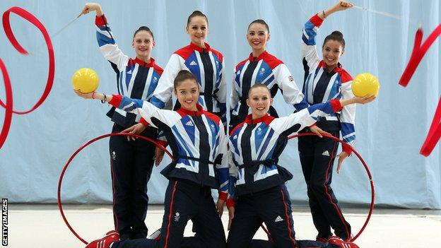Team GB rhythmic gymnastics