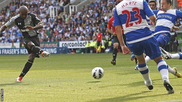 Jermain Defoe fired Tottenham into the lead